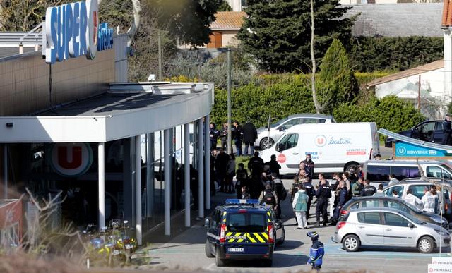 ก่อการร้าย! IS อ้างบงการกราดยิง-จับตัวประกันซูเปอร์มาร์เกตฝรั่งเศสตาย3ศพ ตะโกนสรรเสริญพระเจ้าก่อนลงมือ