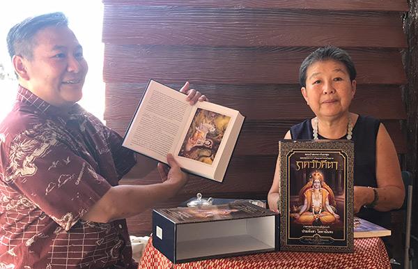 """(ชมคลิป) จิบกาแฟคุย """"สดใส ขันติวรพงศ์"""" กับผลงานแปลหนังสือชื่อก้องโลกเล่มใหม่ """"ภควัทคีตา : พระเจ้าสนทนากับอรชุน"""""""