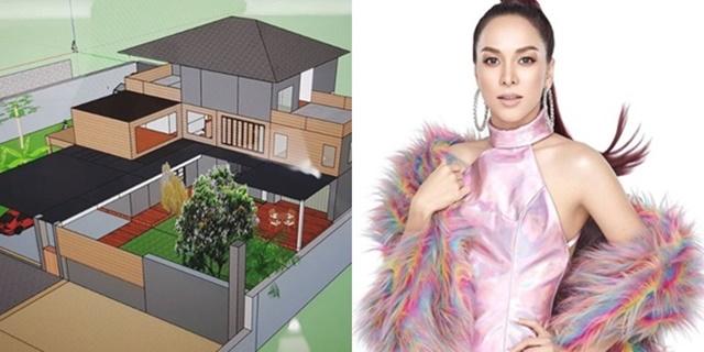 """""""ซาร่า AF3"""" เผยแบบบ้านที่วาดเอง เตรียมสร้างให้แม่"""
