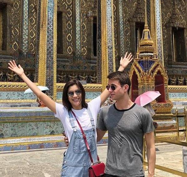"""หวานมาก! """"แมทธิว"""" บินเซอร์ไพรส์ ร่วมฉลองวันเกิด """"ปู ไปรยา"""" ถึงเมืองไทย"""