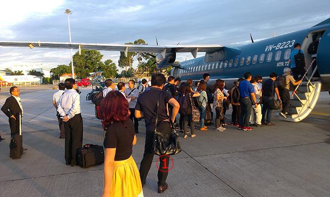 VASCO เวียดนามหยุดบินหลายเส้นทาง 3 วัน ปัญหาอะไหล่ ATR72