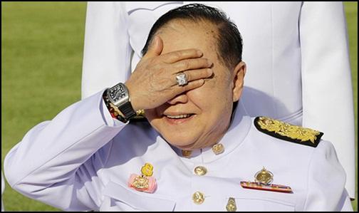 พล.อ.ประวิตร วงษ์สุวรรณ รองนายกรัฐมนตรีและ รมว.กลาโหม
