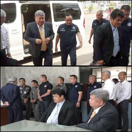 ตำรวจปปปปชช  นายปรมชัยกรรณสูตและนายยงค์ผู้อำนวยการกองบังคับการตำรวจนครบาล