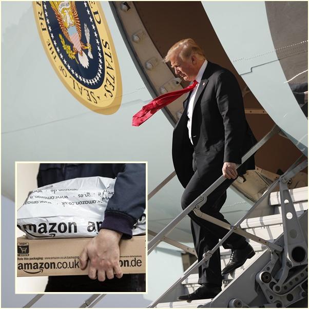 "In Clips :ทรัมป์ทวีตวันเสาร์เล่นงาน ""อเมซอน-วอชิงตันโพสต์"" อ้างทำไปรษณีย์สหรัฐฯขาดทุนยับหลายพันล้านดอลลาร์"