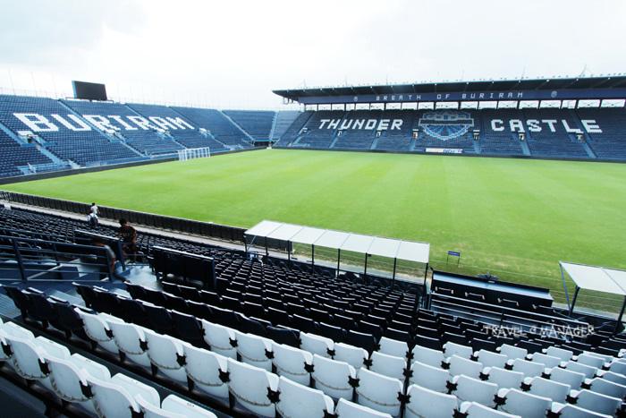 สนามฟุตบอลไอ-โมบาย สเตเดียมที่ชาวบุรีรัมย์ภาคภูมิใจ