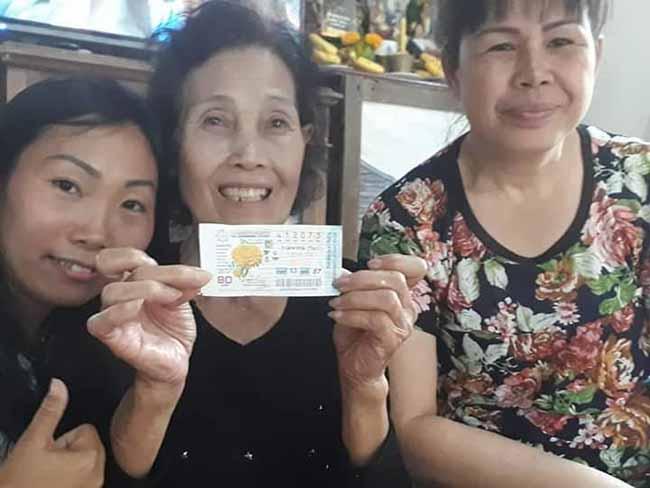 ชาวเชียงคานดวงเฮงถูกรางวัลที่ 1 ถึง 3 คน รับไปคนละ 6 ล้านบาท
