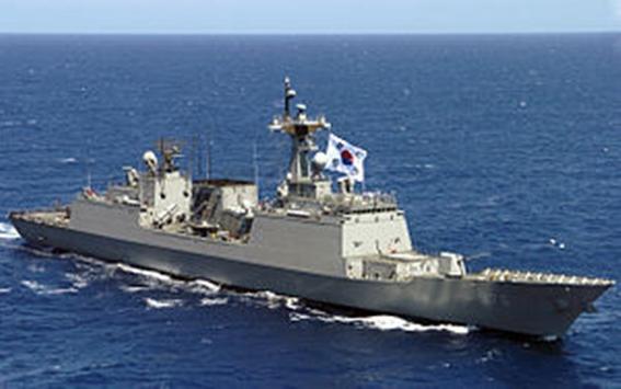 """โซลส่งเรือรบ """"มุนมู เดอะ เกรท"""" ไปกานาด่วน หลังโจรสลัดลักพาตัว 3 ลูกเรือเกาหลีใต้จากเรือประมงกานา"""