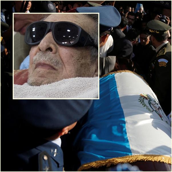 "In Pics:อดีตผู้นำเผด็จการกัวเตมาลา ""เอเฟรน ริออส มอนต์"" เบื้องหลังฆ่าล้างเผ่าพันธุ์ เสียชีวิตแล้วในวัย 91  ปี"