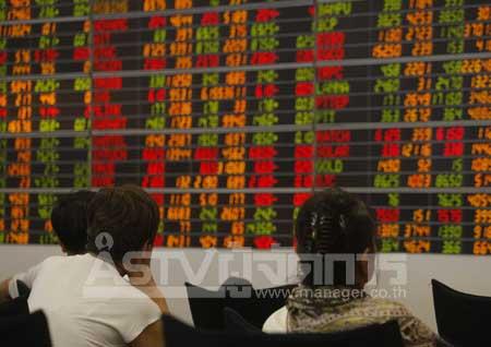 หุ้นร่วง 8 จุด ตามตลาดในภูมิภาค กังวลสงครามการค้าสหรัฐฯ-จีน
