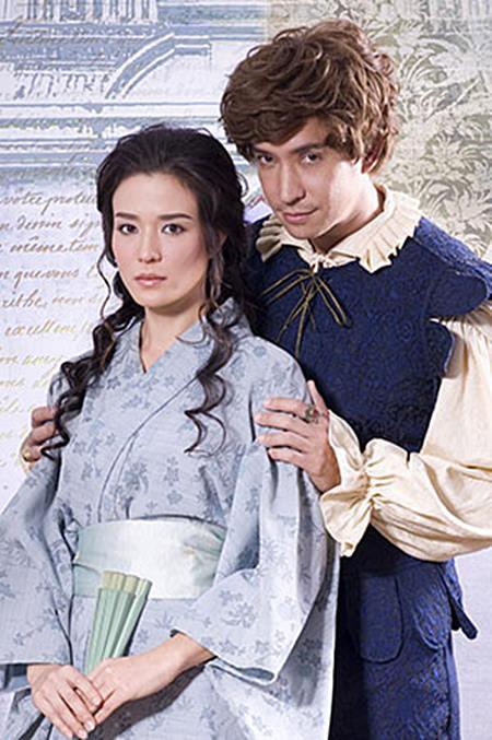 """มารี กีมาร์ กับ เจ้าพระยาวิชเยนทร์ ในละครเรื่อง """"บุพเพสันนิวาส"""""""