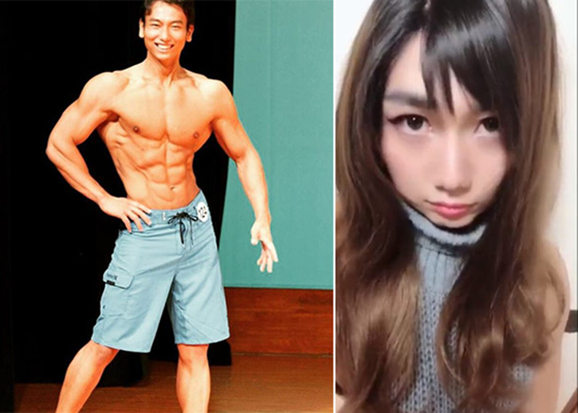 คลิป 6 วินาที ของ 'หนุ่มนักกล้าม' กับ 'สาวพริตตี้' ที่คนญี่ปุ่นต้องร้องสุโก้ย!
