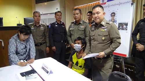 ผู้การฯ ชลบุรี แถลงผลงาน ตร.ในสังกัดจับกุมผู้ต้องหา  3 รายก่อเหตุในพื้นที่