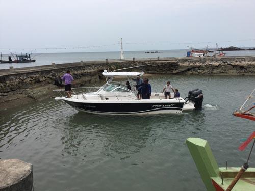 เรือสปีดโบ๊ท  ที่ประสบเหตุเข้าช่วยเหลือดังกล่าว