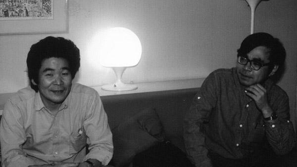 ทากาฮาตะ และ มิยาซากิ ในวัยหนุ่ม