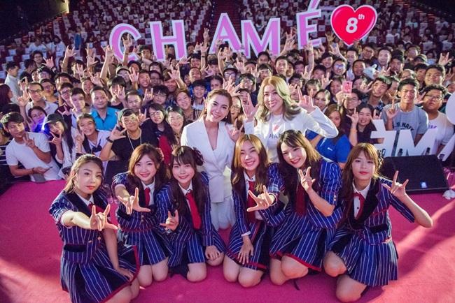 """""""ชาเม่-BNK48"""" จับมือมอบความฟินก้าวสู่ 8 ปี จัดดูหนังสุดเอ็กซ์คลูซีฟโอตะล้นทะลั่ก"""