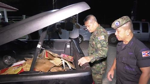 รวบคาด่านตรวจฯ จ.ตราด ผู้ต้องหาพร้อมอาวุธสงครามล็อตใหญ่ ช่วงคืนที่ผ่านมา