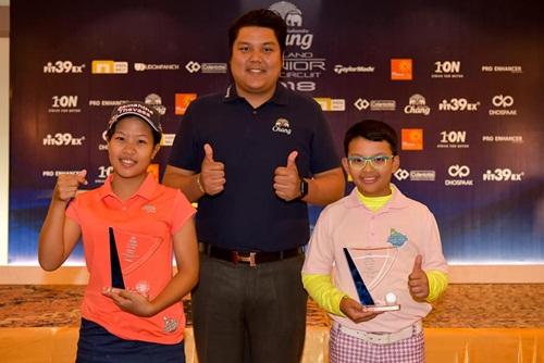 ผู้ชนะในรุ่นจูเนียร์ชายและหญิง