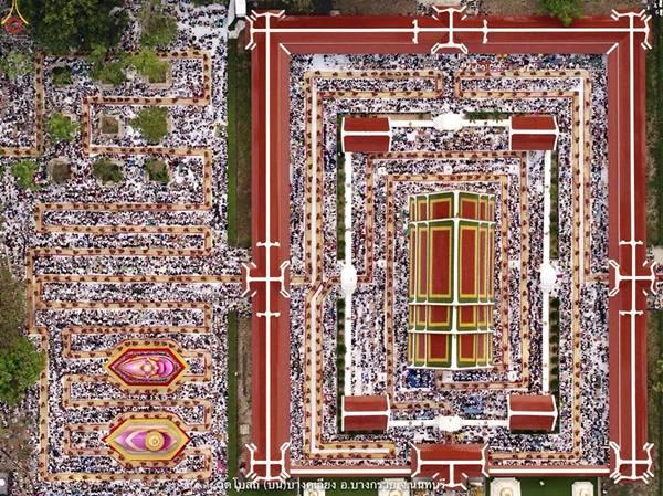 วัดโบสถ์บน บางกรวย นนทบุรี (FB:เครือข่ายคณะศิษยานุศิษย์วัดพระธรรมกายทั่วโลก)