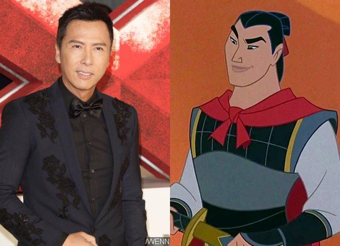 """""""ดอนนี เยน"""" ร่วมแสดง Mulan ของ Disney ในบทครูฝึกทหาร"""