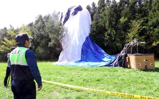 One killed in hot air balloon crash on S. Korea resort island