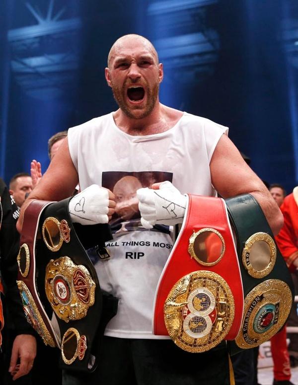 ไทสัน ฟิวรี อดีตแชมป์ชาวอังกฤษ
