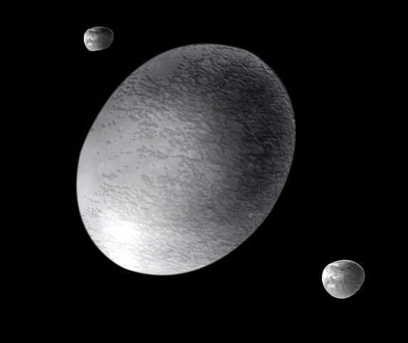 พบวงแหวนล้อมรอบดาวเคราะห์แคระ Haumea