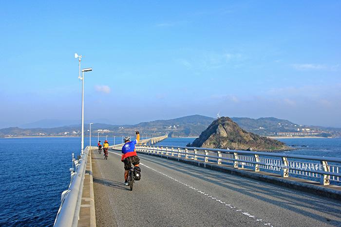 ปั่นวันแรกไป-กลับ ข้ามสะพานทสึโนชิมะ