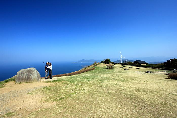 จุดชมวิวเซนโจจิกิ บนความสูง 333 เมตร จากระดับน้ำทะเล