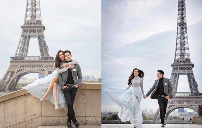 """""""กรณ์ – ศรีริต้า"""" ถ่ายรูปเล่นที่ปารีส แต่เอ๊ะ! ทำไมเหมือนพรีเวดดิง"""