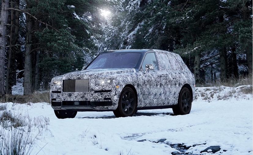 """โรลส์-รอยซ์ ประกาศรถยนต์แบบยกตัวถังสูงรุ่นใหม่ ชื่อ """"คัลลิแนน"""""""