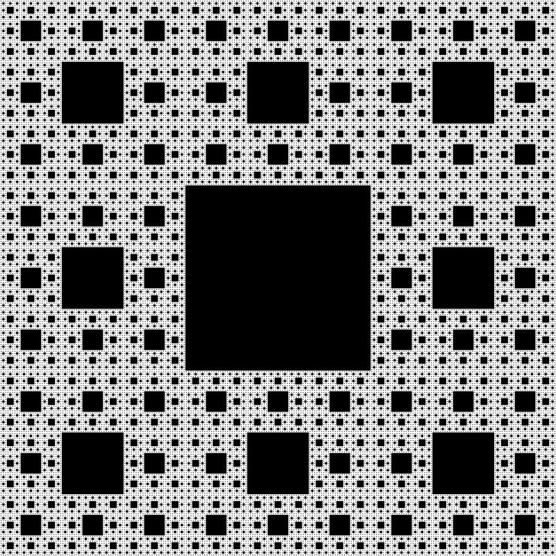 เรขาคณิตแบบ fractal ที่ B.B. Mandelbrot สร้าง