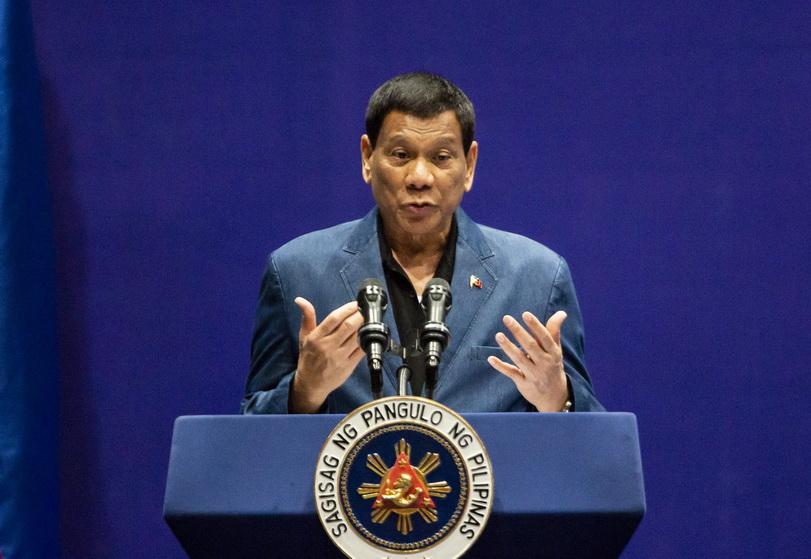 ประธานาธิบดี โรดริโก ดูเตอร์เต แห่งฟิลิปปินส์