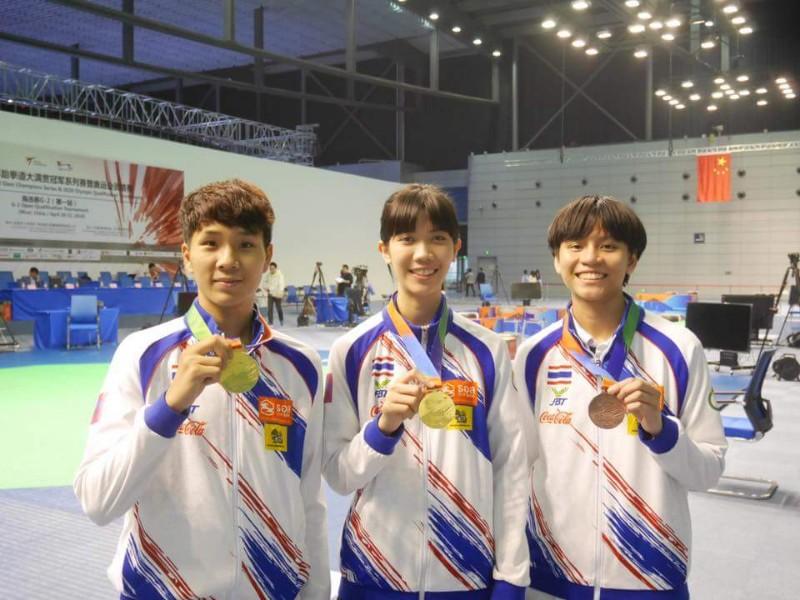 """จอมเตะไทยซิว 2 ทอง 1 ทองแดงปิดฉากแกรนด์สแลม """"จูเนียร์"""" ลุ้นโอลิมปิก"""