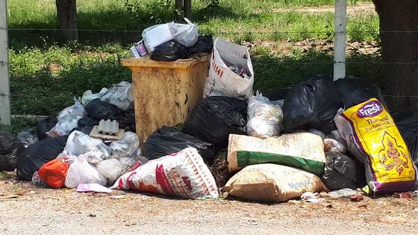 เหม็นหึ่ง! รถเก็บขยะเสีย 12 คันรวด โวยเทศบาลปล่อยขยะทิ้งเกลื่อนเมืองลำปาง