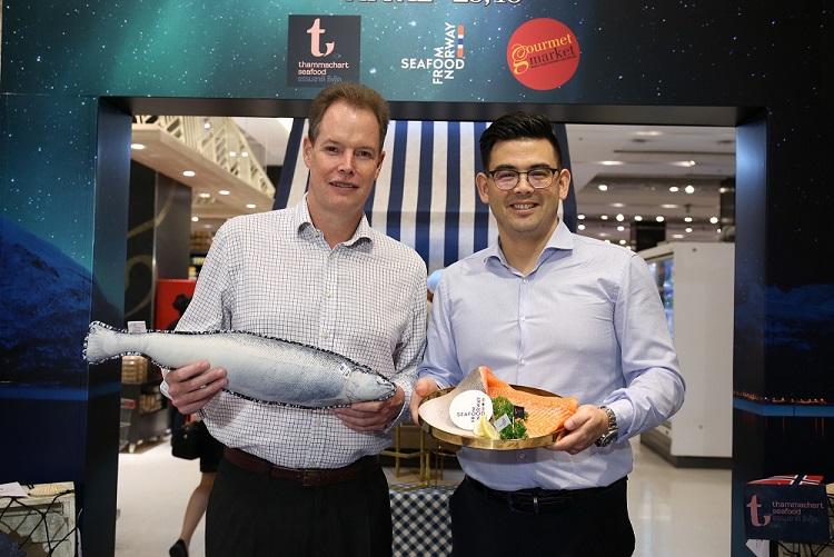 คนไทยเฟื่องกินปลาแซลมอนพุ่ง 40% นำเข้าจากนอร์เวย์ 1.2 หมื่นตัน ท็อปอาเซียน