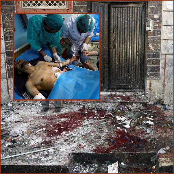 "In Pics : ด่วน! มือระเบิดฆ่าตัวตาย IS โจมตี ""ศูนย์ลงทะเบียนเลือกตั้งคาบูล"" ดับ 31 เจ็บเพียบ"