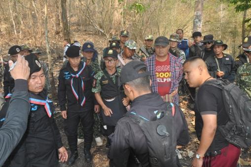 จนท.เร่งค้นหาหนุ่มใหญ่ศูนย์วิจัยฯขุนยวม หึ่งถูกกองกำลังติดอาวุธจับกลางป่า