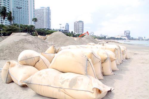 เชื่อเสริมทรายชายหาดพัทยาเสร็จ ช่วยเสริมภาพลักษณ์ท่องเที่ยวได้ดี