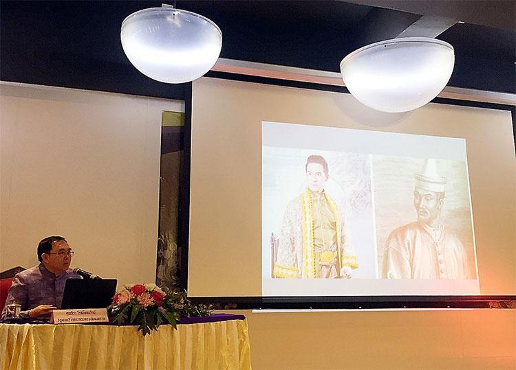 นายวีระ โรจน์พจนรัตน์ รัฐมนตรีกระทรวงวัฒนธรรม เป็นประธานกล่าวเปิดงานและบรรยายพิเศษ
