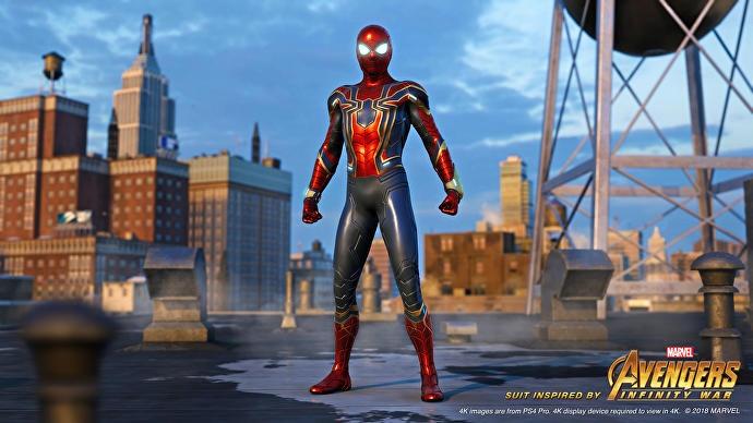"""จองเกม """"Spider-Man"""" วันนี้ รับฟรีชุดเสริมใยเหล็กจากหนัง """"Infinity War"""""""