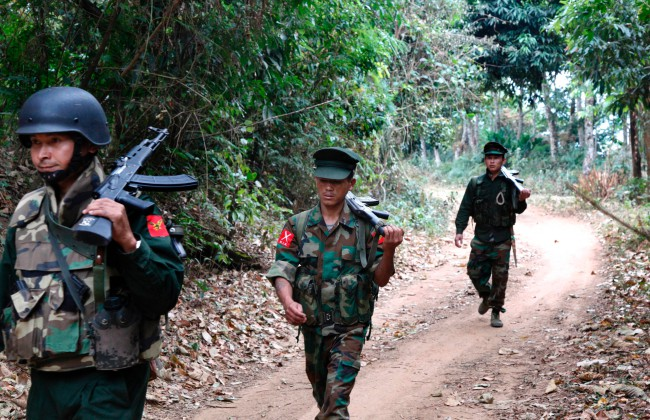 กองทัพพม่าระดมกำลังสู้กลุ่มติดอาวุธกะฉิ่นทำประชาชนผลัดถิ่นมากขึ้น