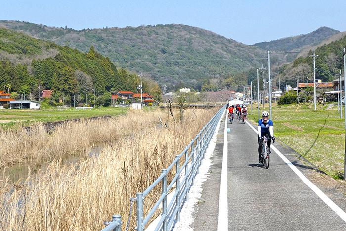 ทางจักรยานจากมิเนะสู่ยามากุจิ