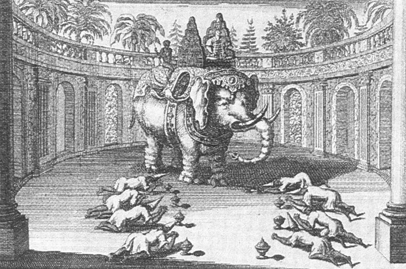 รายการโชว์แขกเมืองในสมัยสมเด็จพระนารายณ์! ทรงช้างนำราชทูตไปดูการแสดงด้วยพระองค์เอง!!
