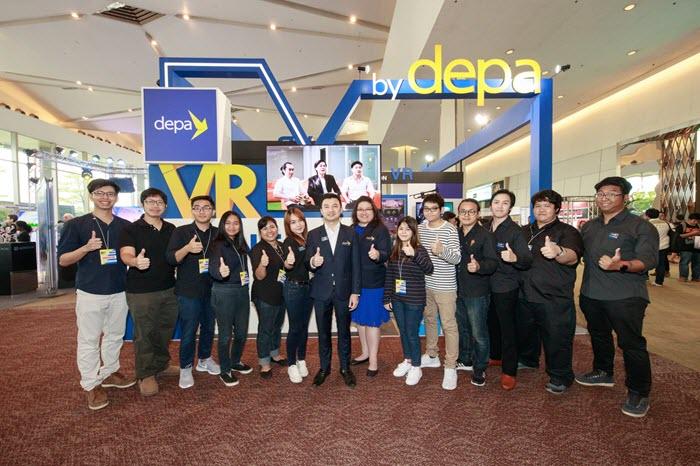 ดีป้า โชว์ 5 ผลงานเทคโนโลยีวีอาร์ฝีมือคนไทยในงานคอมมิคคอน