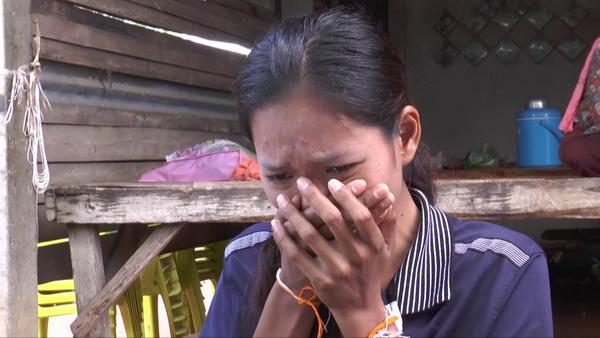 เมียเหยื่อแรงงานไทยไฟไหม้ที่ไต้หวันร่ำไห้เสียเสาหลัก วอนรัฐช่วยขอศพสามีกลับบุรีรัมย์