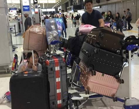 """ช้อปมือแตก """"บุ๋ม ปนัดดา"""" ไปเที่ยวญี่ปุ่น กลับมาพร้อมน้ำหนักกระเป๋า 170 กิโล!"""