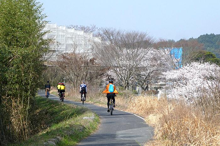 เส้นทางจักรยานชิน-ยามากุจิ ในเส้นทางปั่นจากเมืองยามากุจิมุ่งหน้าสู่เมืองอุเบะ
