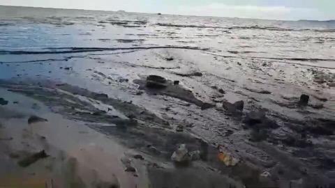 หมดสภาพเมืองท่องเที่ยว คลิปปล่อยน้ำเสียลงหาดจอมเทียนว่อนโลกออนไลน์