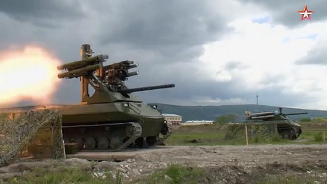 รัสเซียอวดของ! แพร่คลิป Uran-9 ยานรบสมองกลสงครามอนาคต เปิดตัววันV-Day (ชมวิดีโอ)