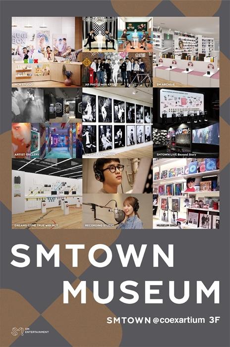 แฟนๆเตรียมฟิน S.M. Ent. เปิดพิพิทธภัณฑ์รวมศิลปินของตนเอง ณ. COEX Artium ที่เกาหลีใต้